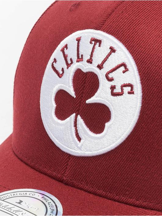 Mitchell & Ness Кепка с застёжкой NBA Boston Celtics 110 Curved красный