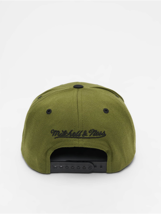 Mitchell & Ness Кепка с застёжкой Branded Box Logo оливковый