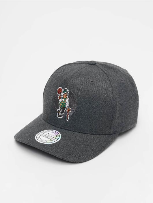 Mitchell & Ness Кепка с застёжкой NBA Boston Celtics серый