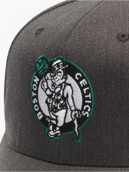 Mitchell & Ness Кепка с застёжкой NBA Boston Celtics Team Pop серый