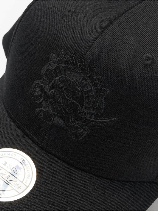 Mitchell & Ness Кепка с застёжкой NBA Toronto Raptors 110 Black On Black черный