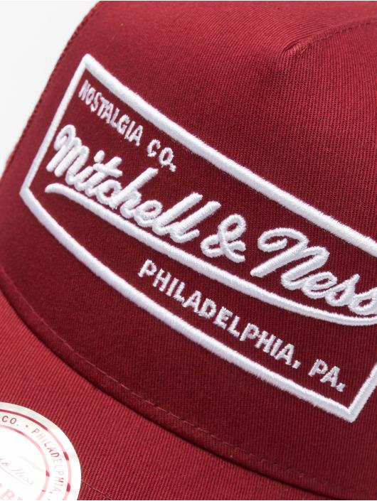 Mitchell & Ness Кепка тракер NBA Classic Trucker Box Logo красный