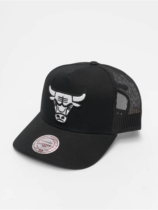 Mitchell & Ness Кепка тракер NBA Chicago Bulls Classic Trucker черный