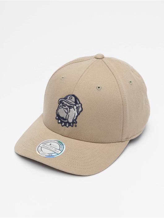 Mitchell & Ness Casquette Snapback & Strapback NCAA Snapback Low Pro Team Logo beige