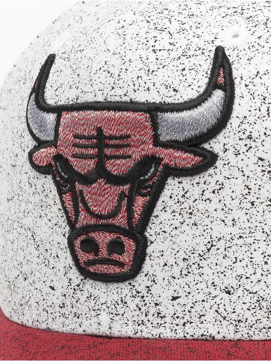 Mitchell & Ness Casquette Snapback & Strapback No Rest Chicago Bulls blanc