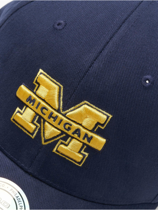 Mitchell & Ness Casquette Snapback & Strapback NCAA bleu