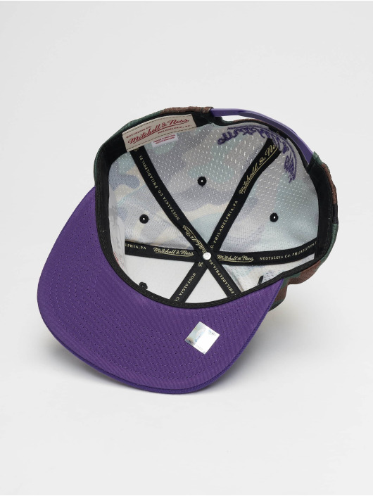 Ness 505226 Woodland Snapback La amp; Cover Camouflage Mitchell Casquette Lakers Strapback v5q1wncRx