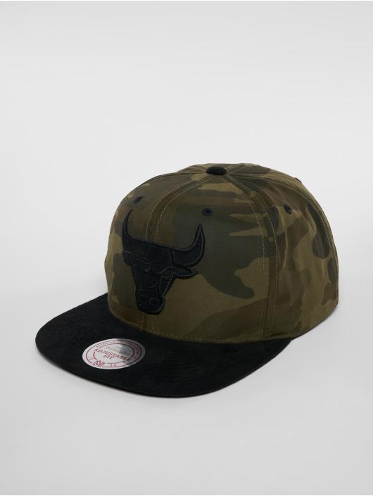 Mitchell & Ness Casquette Snapback & Strapback Woodland Camo Chicago Bulls camouflage