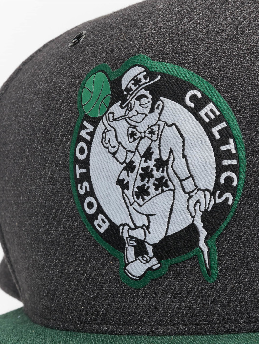 Mitchell & Ness Casquette Snapback & Strapback NBA Bosten Celtics Woven Reflective gris