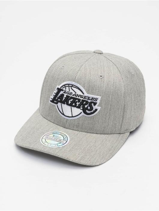 Mitchell & Ness Casquette Snapback & Strapback NBA Blk/Wht Logo 110 La Lakers gris