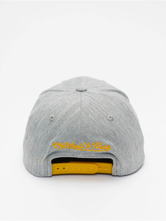 Mitchell & Ness Casquette Snapback & Strapback Team Heather Redline Los Angeles Lakers gris