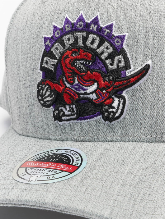 Mitchell & Ness Casquette Snapback & Strapback Team Heather Redline Toronto Raptors gris