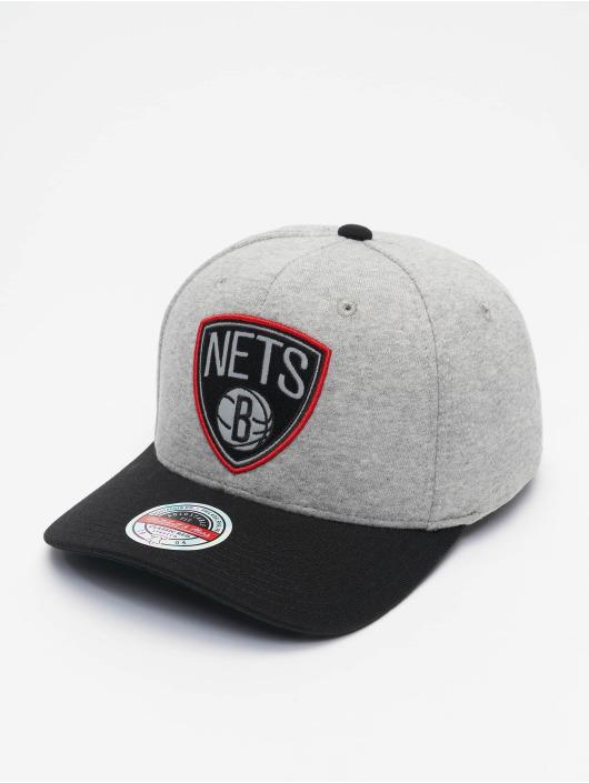 Mitchell & Ness Casquette Snapback & Strapback 186 Redline Brooklyn Nets gris