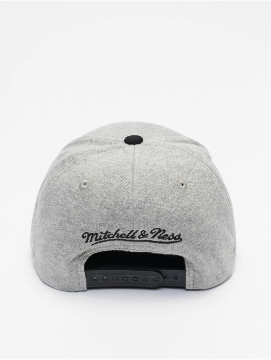 Mitchell & Ness Casquette Snapback & Strapback 186 Redline Chicago Bulls gris