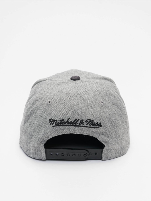 Mitchell & Ness Casquette Snapback & Strapback Dual Heather Los Angeles Lakers gris