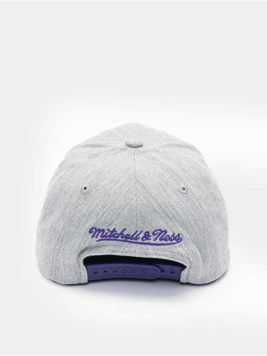 Mitchell & Ness Casquette Snapback & Strapback Team Heather Stretch Los Angeles Lakers gris