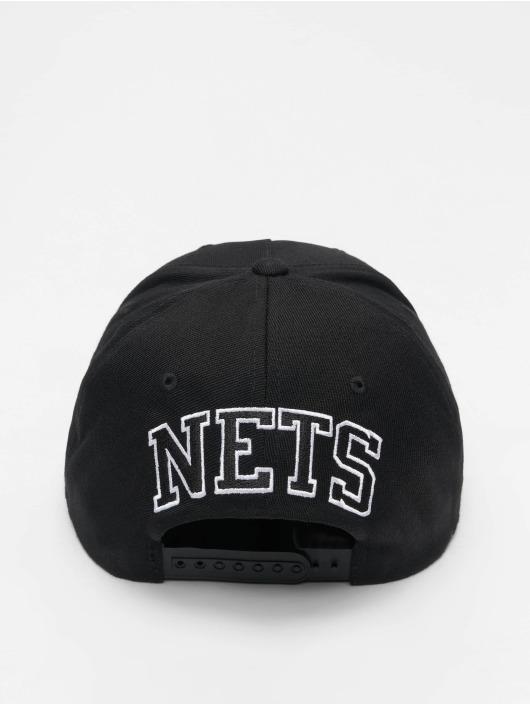 Mitchell & Ness Casquette Snapback & Strapback NBA Brooklyn Nets 110 noir