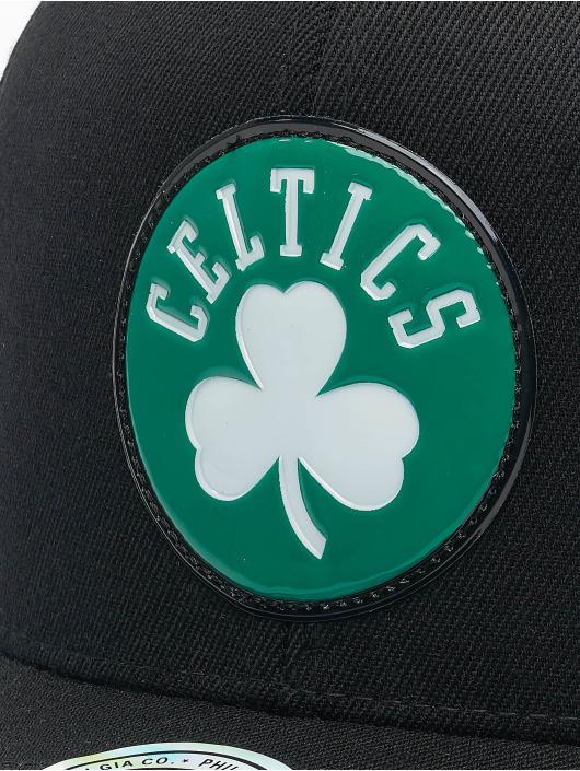 Mitchell & Ness Casquette Snapback & Strapback Chrome Logo Boston Celtics noir