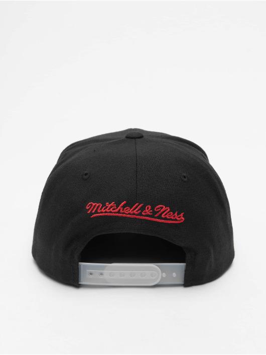 Mitchell & Ness Casquette Snapback & Strapback Reflective Duo Chicago Bulls noir