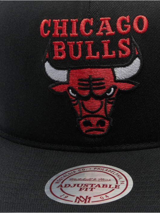 Mitchell & Ness Casquette Snapback & Strapback NBA Team Logo Deadstock Throwback noir