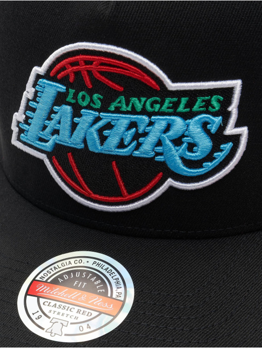 Mitchell & Ness Casquette Snapback & Strapback RGB Stretch Los Angeles Lakers noir