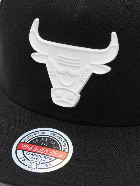 Mitchell & Ness Casquette Snapback & Strapback Casper Redline Chicago Bulls noir