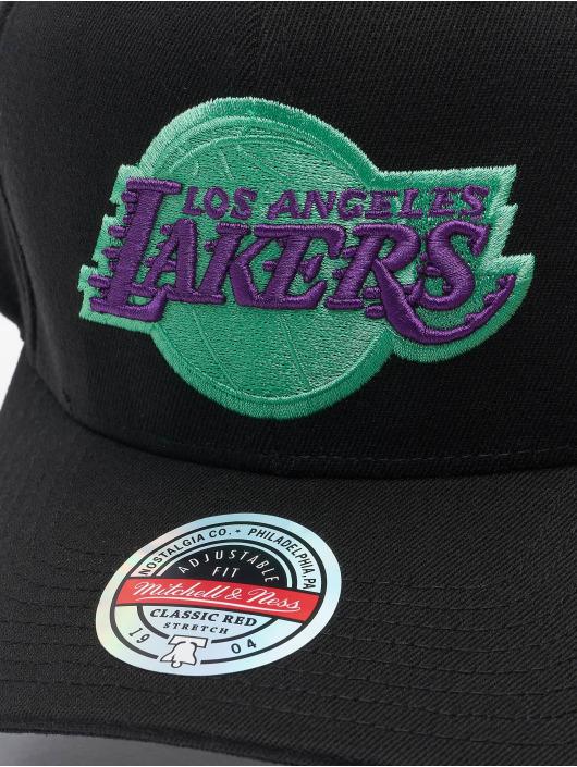 Mitchell & Ness Casquette Snapback & Strapback Nitro Wave Redline Los Angeles Lakers noir