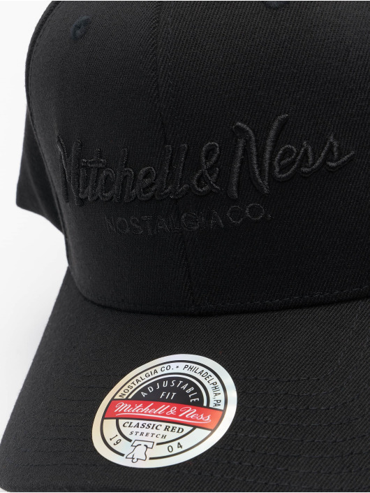 Mitchell & Ness Casquette Snapback & Strapback Pinscript Redline Branded noir
