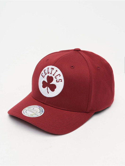 Mitchell & Ness Casquette Snapback & Strapback NBA Boston Celtics 110 Curved rouge