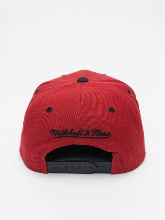 Mitchell & Ness Casquette Snapback & Strapback NBA Team Arch 2 Tone Snapback rouge