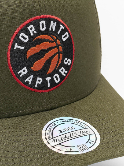 Mitchell & Ness Casquette Snapback & Strapback NBA Battle Toronto Raptors vert