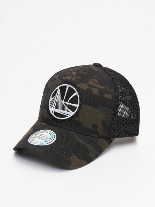 Mitchell & Ness Casquette Trucker mesh Multicam Gs Warriors camouflage
