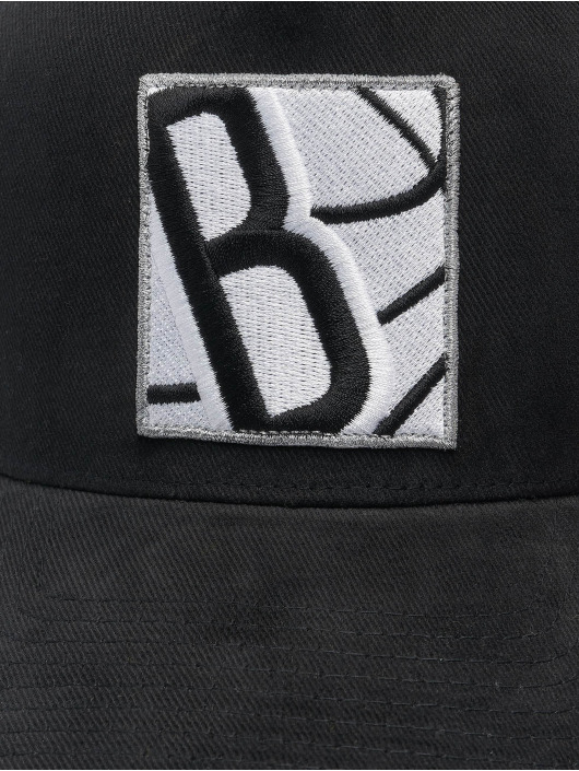 Mitchell & Ness Casquette Trucker mesh Icon Pinch Panel Brooklyn Nets noir