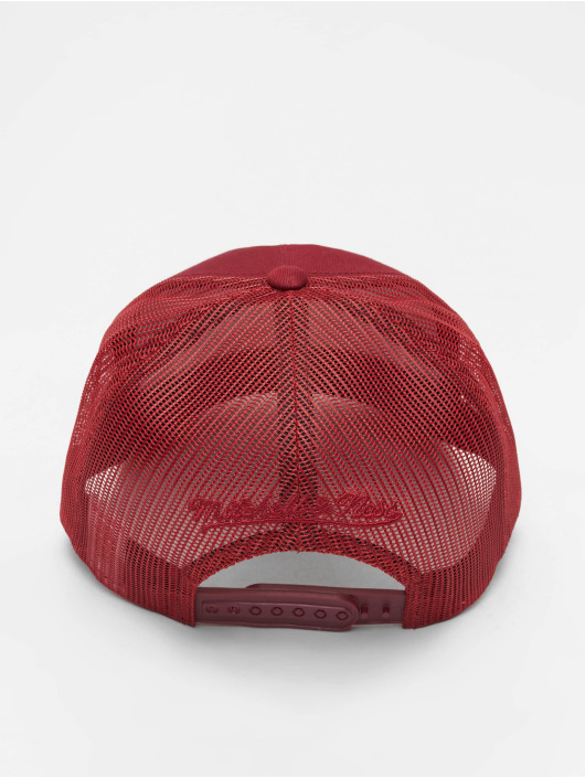 Mitchell & Ness Casquette Trucker mesh NBA Classic Trucker Box Logo rouge