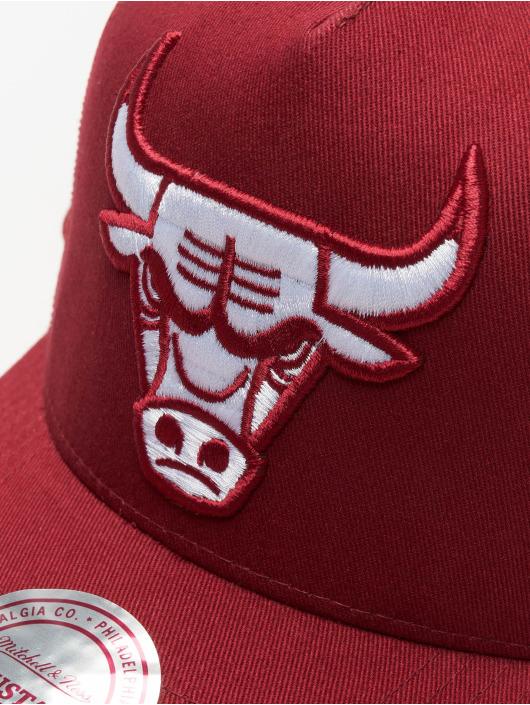 Mitchell & Ness Casquette Trucker mesh NBA Chicago Bulls Classic rouge
