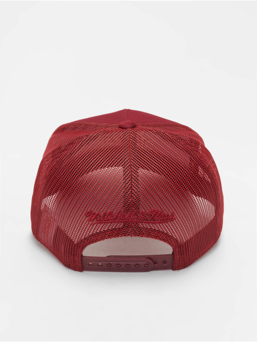 Mitchell & Ness Casquette Trucker mesh NBA Golden State Warriors Classic rouge
