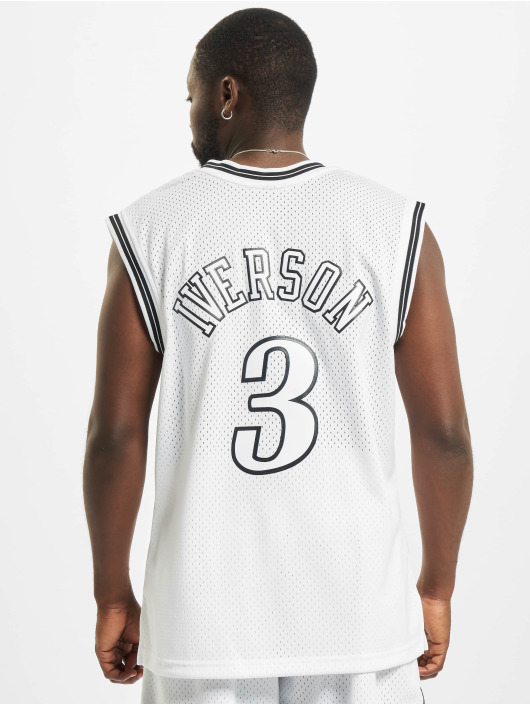 Mitchell & Ness Débardeur Swingman Philadelphia 76ers Allen Iverson blanc