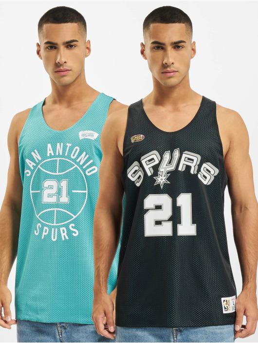 Mitchell & Ness Débardeur Reversible San Antonio Spurs Tim Duncan noir