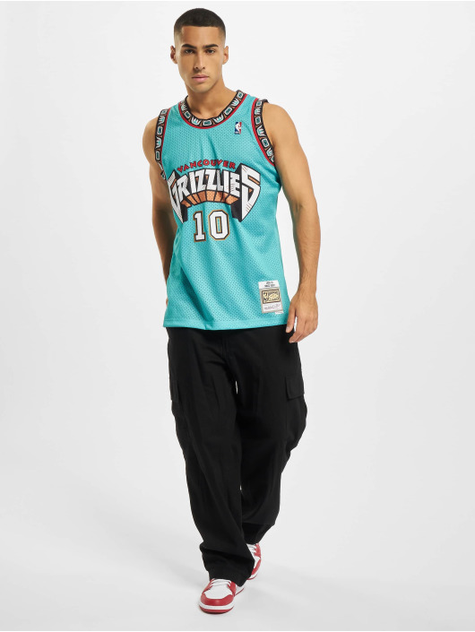 Mitchell & Ness Débardeur NBA Swingman Vancouver Grizzlies Mike Bibby turquoise