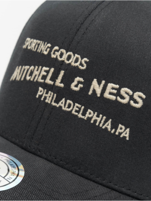 Mitchell & Ness Gorra Snapback Sporting Goods negro