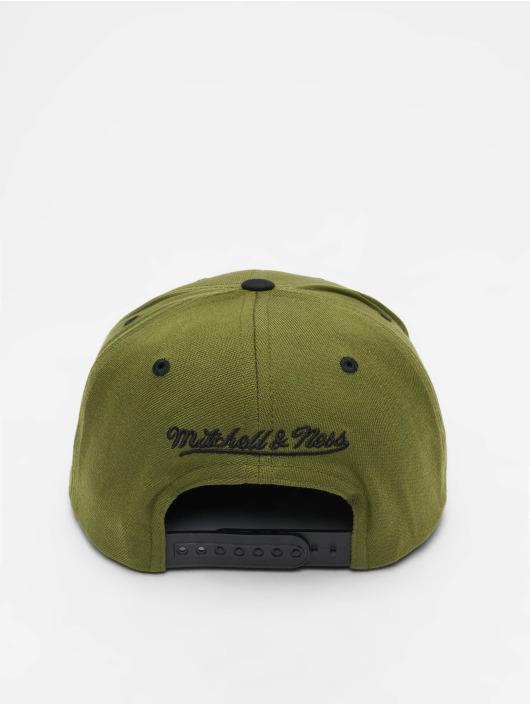 Mitchell & Ness Gorra Snapback Branded Box Logo oliva