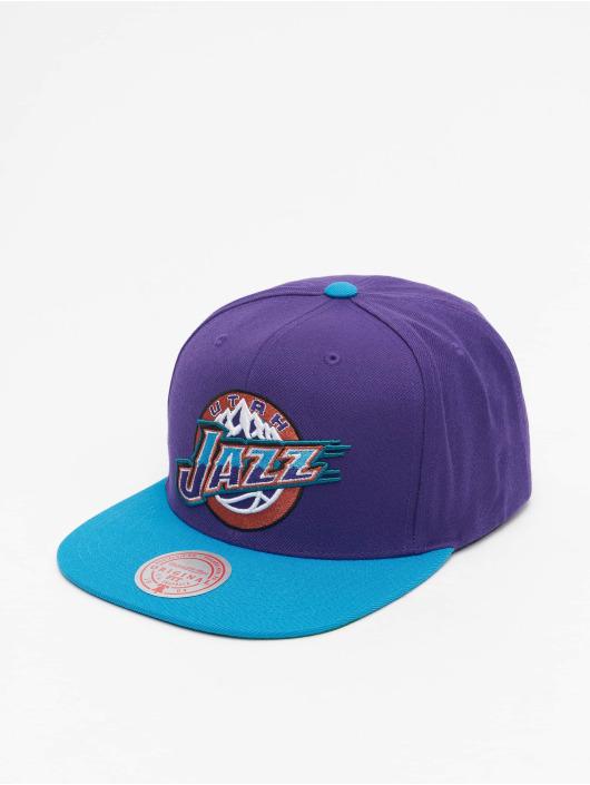 Mitchell & Ness Gorra Snapback Wool 2 Tone HWC Utah Jazz púrpura