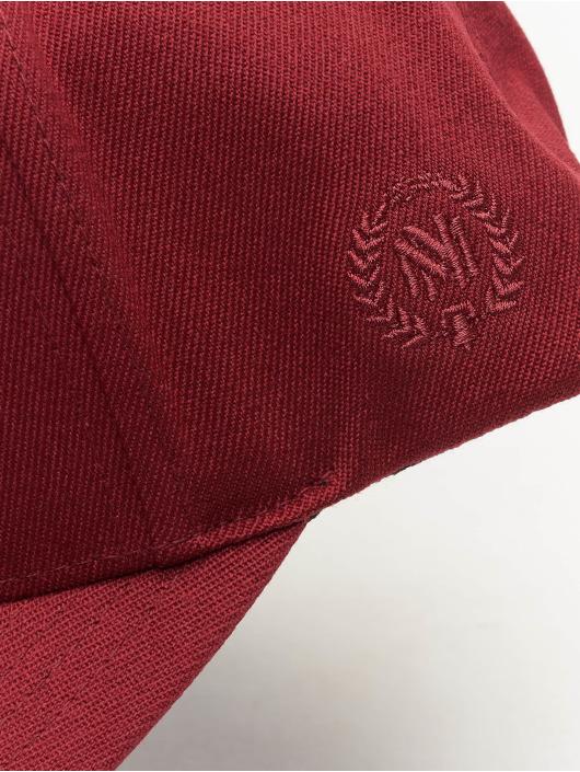 Mitchell & Ness Gorra Snapback 110 Curved Interlocked OB rojo