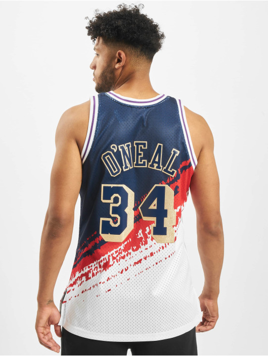 Mitchell & Ness Jersey Independence Swingman LA Lakers S. O'neal синий