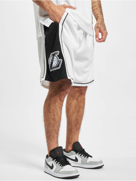 Mitchell & Ness Short Swingman LA Lakers white