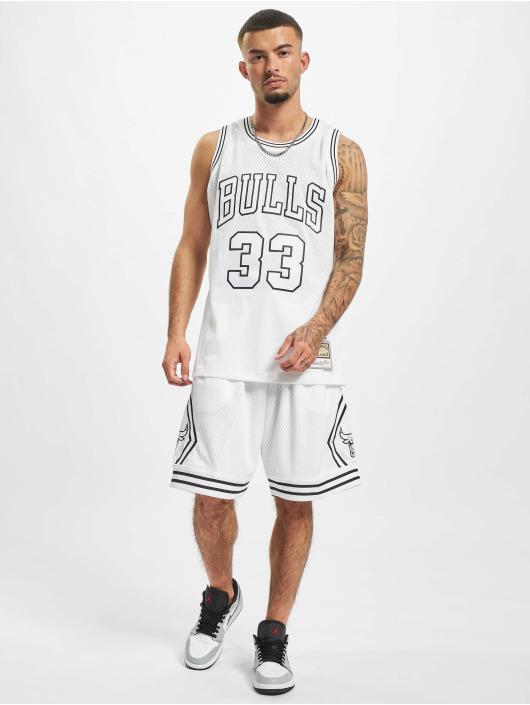 Mitchell & Ness Shorts Swingman Chicago Bulls hvit