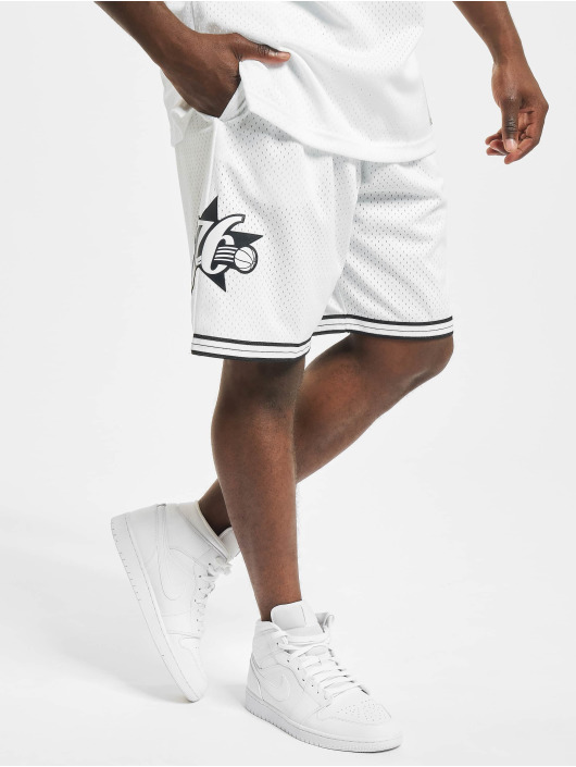Mitchell & Ness Shorts Swingman Philadelphia 76ers hvit