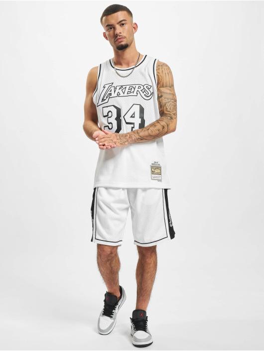 Mitchell & Ness Shorts Swingman LA Lakers weiß