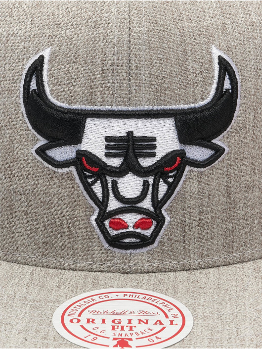 Mitchell & Ness Snapback Team Heather HWC Chicago Bulls šedá