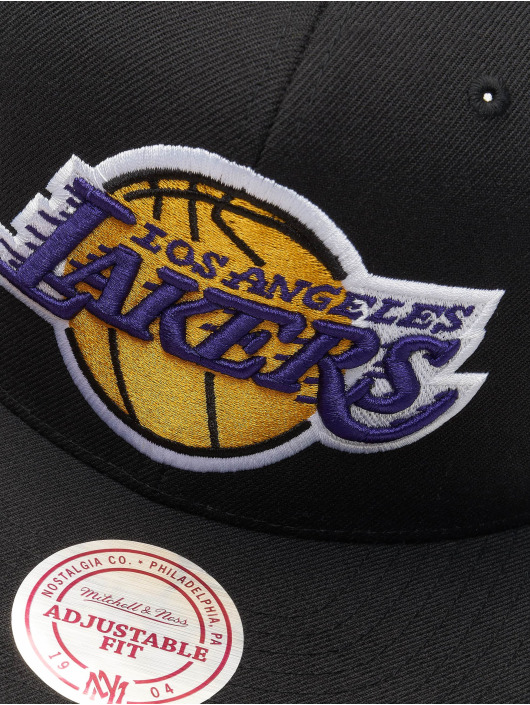 Mitchell & Ness Snapback Cap NBA Wool Solid black